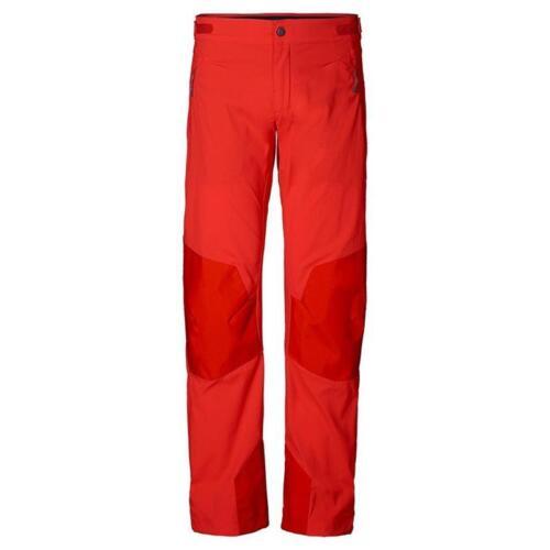 Jack Wolfskin GRAVITY FLEX Pants Herren Softshell-Hose rot *UVP 129,99