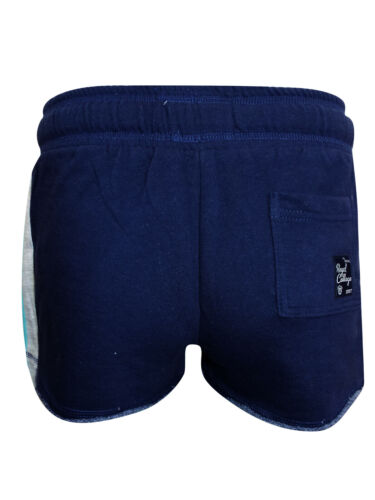 Tokoyo Laundry Navy Striscia Di Cotone Rich Sport Runner Shorts