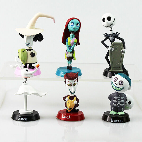 Nightmare Before Christmas Gifts Uk: UK Xmas 6pcs Nightmare Before Christmas Jack And Zero