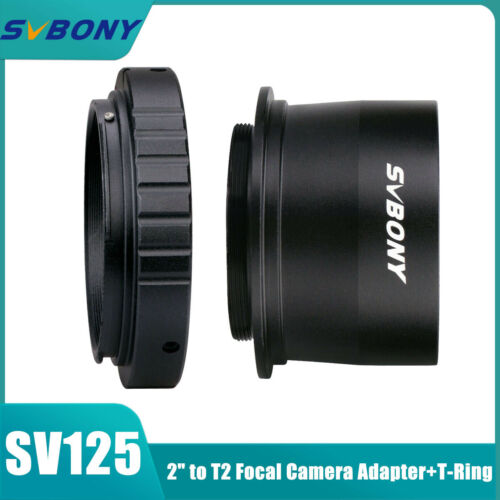 "Ultra Wide Prime Focus adaptador 2/""/&t ring for most Canon EOS SLR//DSLR Camera"