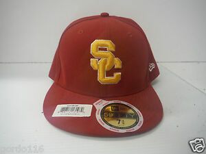 Image is loading USC-New-Era-Fitted-Hat-Adjustable-Womens-Cap- 2497fea845d2