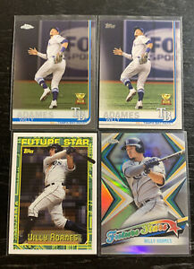 Willy-Adames-Lot-4-2019-Topps-Tampa-Bay-Rays