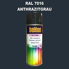 ABVERKAUF LACKSPRAY Belton 400 Ml Spraydose RAL 7016 Anthrazitgrau ...