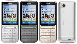 unlocked original nokia c3 01 refurbished cell phone 3g wifi free rh ebay com nokia 301 manual dansk nokia 301 manual svenska