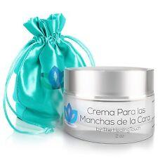 Crema Para Las Manchas de La Cara: Elimina las Manchas Obscuras del Acne el S...