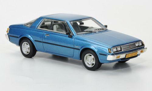 NEO MODELS Mitsubishi Sappor coupé bleu métallisé 1 43 43441