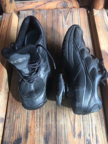 douleur coil Z pour Baskets Taille cuir la en soulagement noir de de 12 Souliers hommes wvmnN80