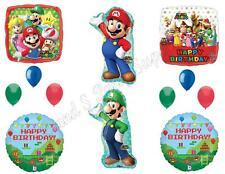 DELUXE! Mario Brothers Luigi Birthday Party Balloons Decoration Supplies Game