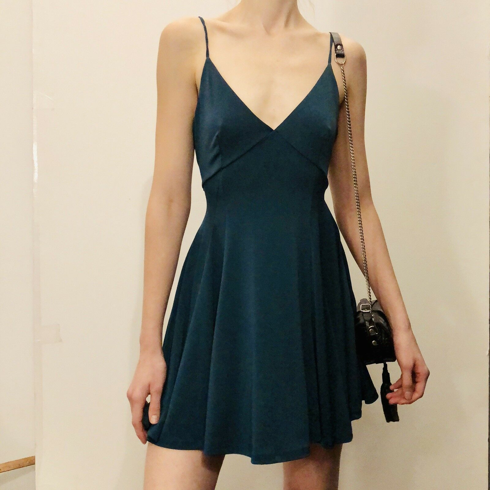 SMALL teal Silence And Noise Dress