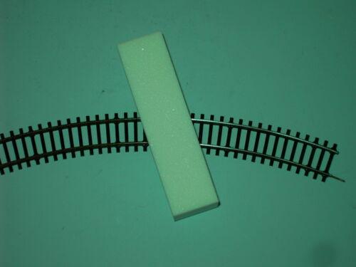 neu Gleisreinigungs-Block Reinigungsklotz Schleifklotz zur Gleiserneuerung