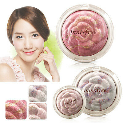 Innisfree Mineral Rose Marbling Blusher 6g #1 Romantic Rose / Korea cosmetic