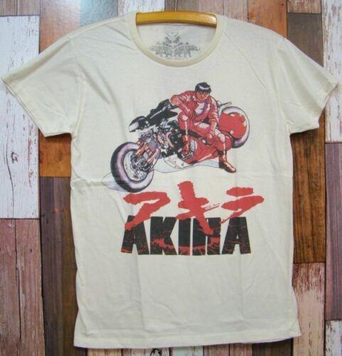 New Akira Shotaro Kaneda Print T-shirt L White Japan VNTG