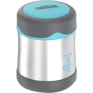 Thermos 10 Oz (environ 283.49 G) Kid's Foogo En Acier Inoxydable Alimentaire Jar-argent/anthracite/turquoise-l/teal Fr-fr Afficher Le Titre D'origine