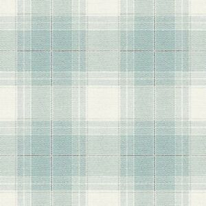 Tapete-Designtapete-Wolltuchimitat-Karos-Schimmer-Cyan-Grau-Bleu-Ecru