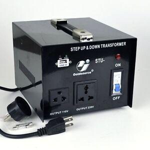Goldsource STU 1000 W Watt Step Up Down 110V 220V Voltage Converter Transformer