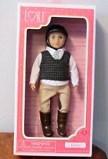 """Our Generation Lori Doll EVAN Equestrian Horse Riding Blonde ** BOY ** 6"""" NIB"""