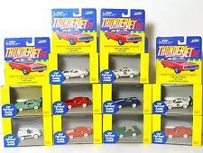 10pc 1999 JL T-Jet ThunderJet Dash AW Style Slot Car Body Set RARE WHITE SET !