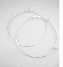 New 10PCS Fashion Expandable Wire Bangle Bar Starter Bracelets!