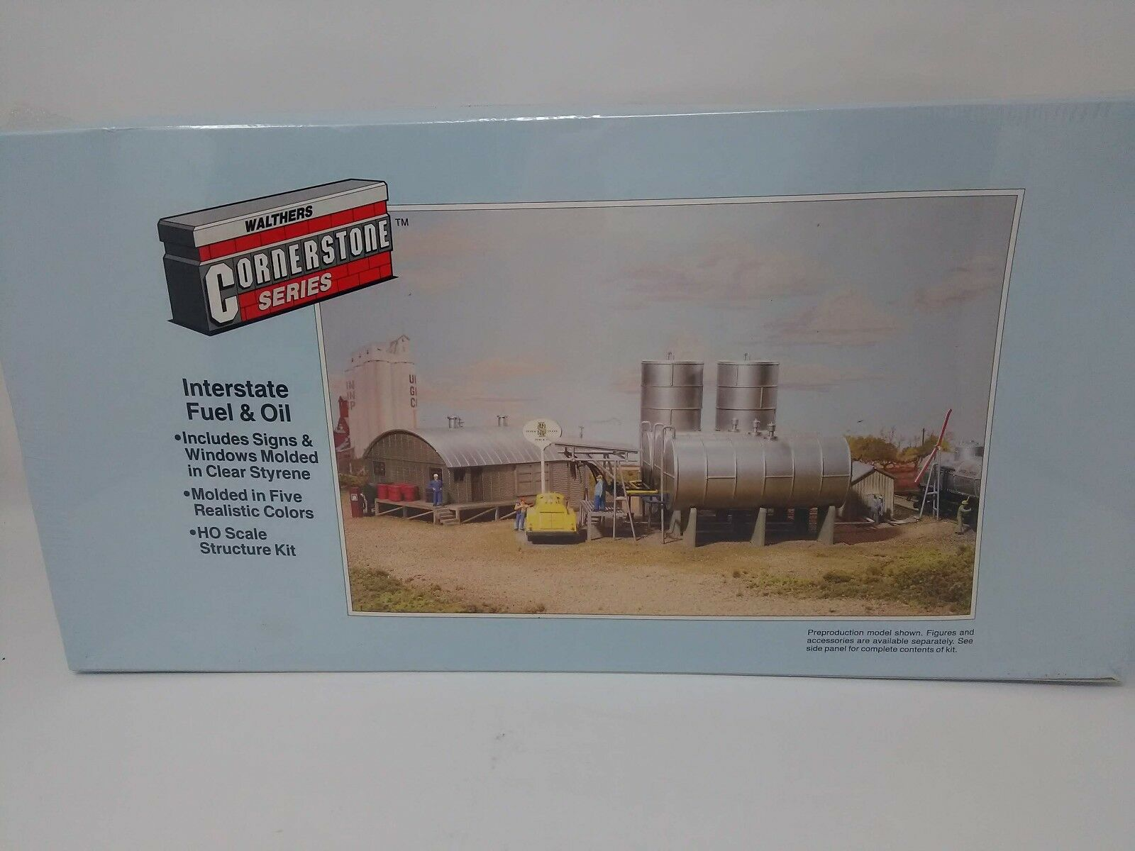 Walthers Interstate Fuel & Oil HO Scale Kit  933-3006 Cornerstone Series Sealed