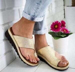 Soft-Women-Ladies-Comfy-Platform-Sandal-Shoes-Masasge-Slipper-Cortical-US