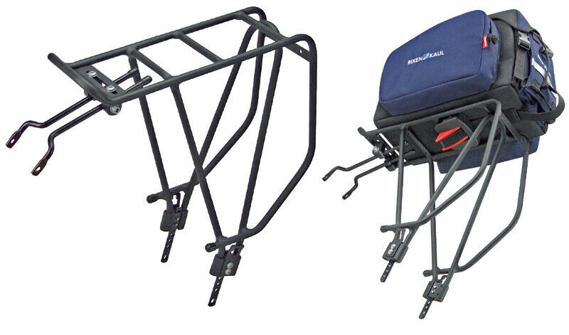 Rixen & Kaul Klickfix Rackpacker Portabici Posteriore per 2628  fino Max. 25