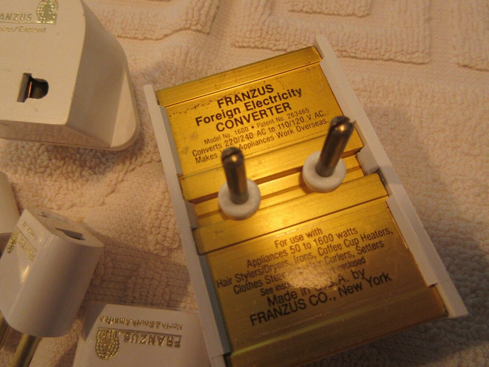 FRANZUS , Electricity , Converter Kit , 1600 Watt Capac