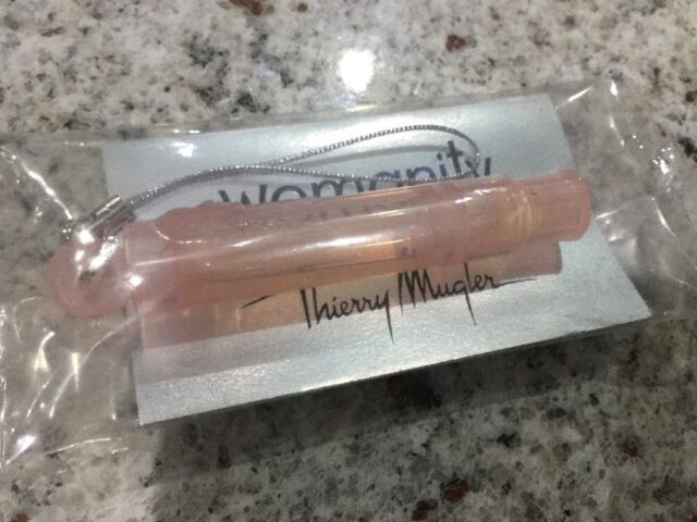 Womanity  BY THIERRY MUGLER Cute Sample 1.2ml