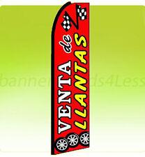 Swooper Feather Flutter Tall Banner Sign Flag 11.5 ft - VENTA DE LLANTAS rq
