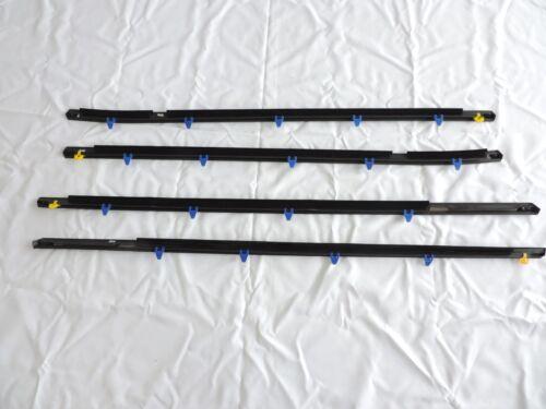 Door Belt Weather Strip Molding Seal Set For 1998-2002 Accord 4 Door Wacj