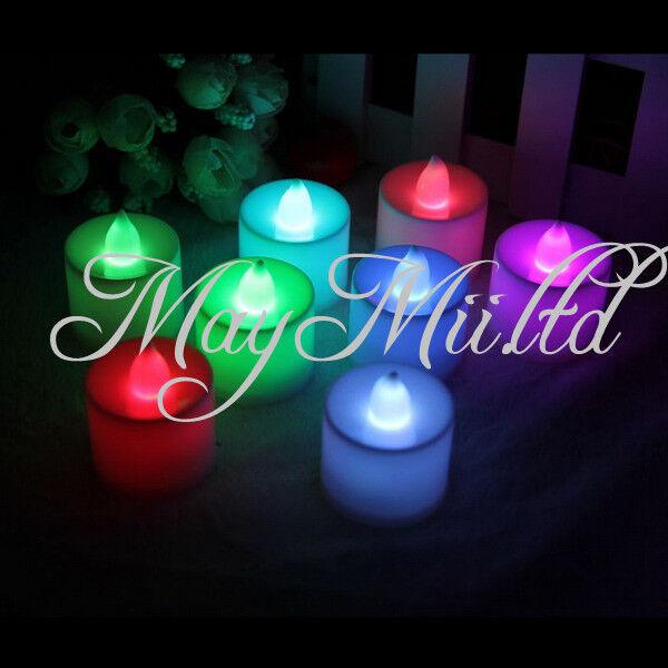 Tea Light Wedding Party Flameless Candle Tealight Tea Flickering Flicker LED YF