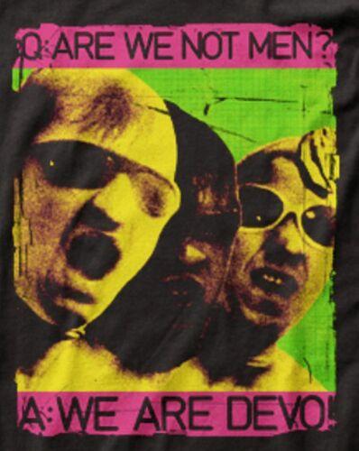 "S 3X Devo /""We Are Devo/"" Jersey T-Shirt"