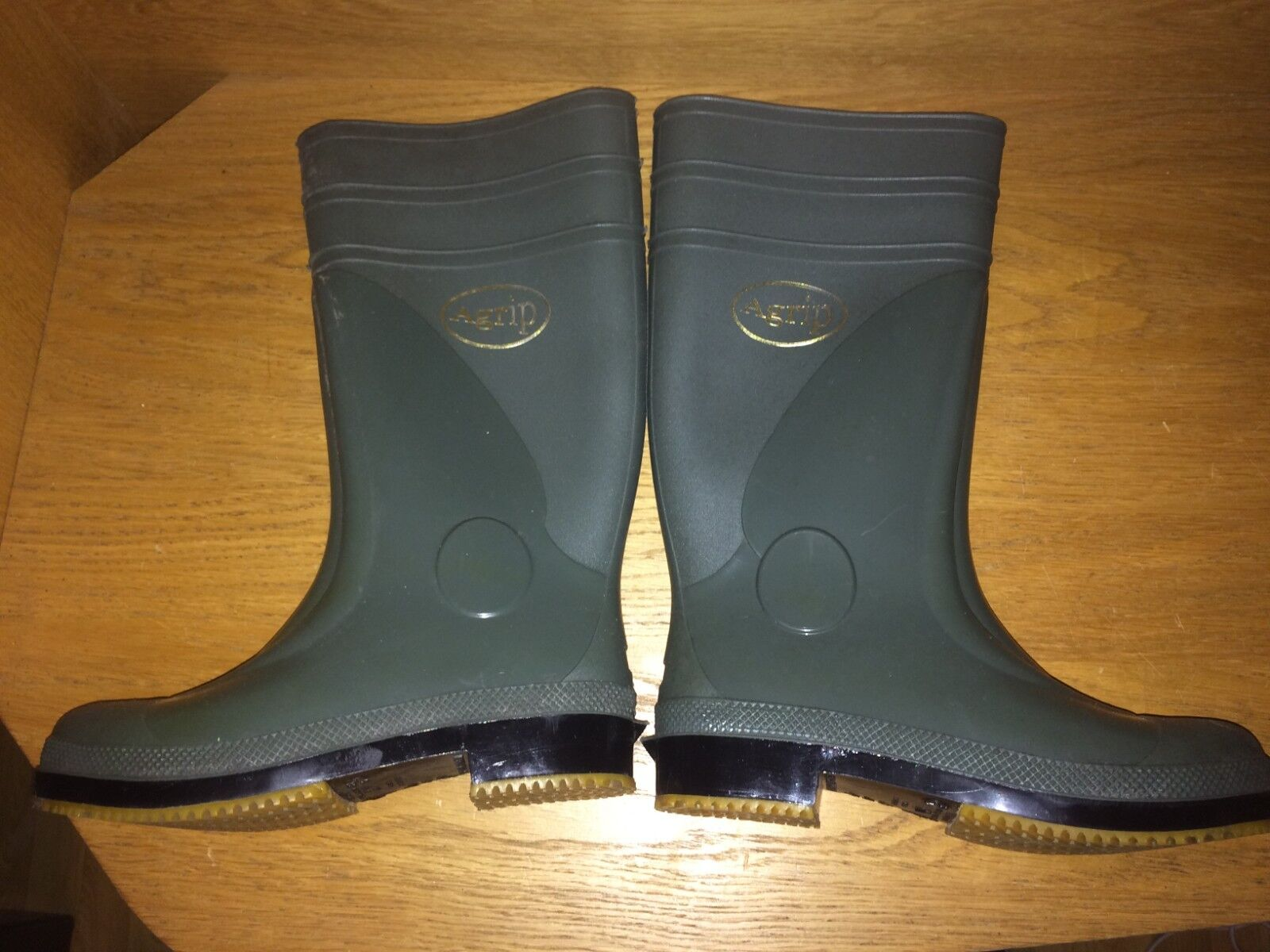 Agrip Non slip Safety Site Work Wellie Wellington Boots  - size 38 uk 5