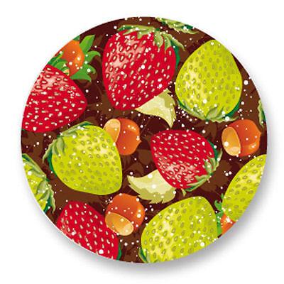 Magnet Aimant Frigo Ø38mm Motif Cuisine Kitchen Aliment legume fruit