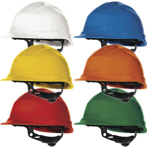 Delta Plus Quartz lll UP Safety Helmet Hard Hat 8 Fixing Electrical Insulation