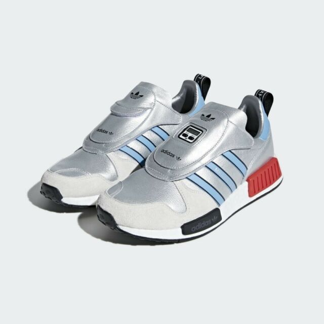 size 40 dc39b 12ca6 adidas Micropacer Xr1 Athletic Running Shoes Metallic Silver Sz 10.5