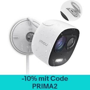 Imou WLAN Außen Überwachungskamera 1080P Alarm & Licht Wetterfest IP65 PIR ONVIF