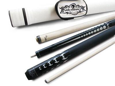 Champion Black 1X1 Hard Case For Billiard Pool Stick Glove