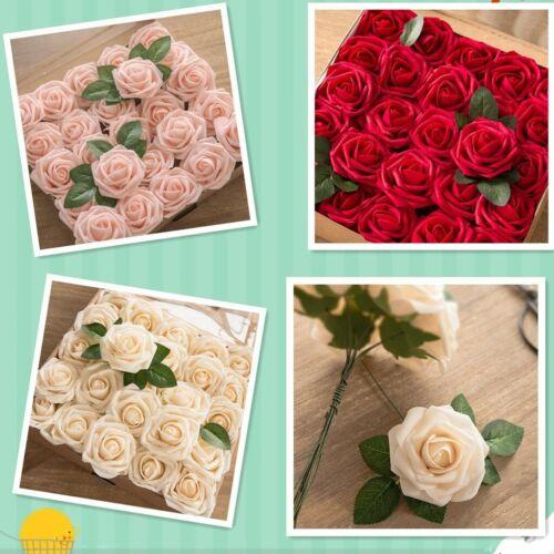 Valentine/'s Day DIY Foam Flower Gift Rose Box Bouquet Wedding Anniversary Gift