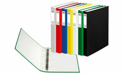 herlitz Ringbuch ROT maX.file protect A4 PP Ordner schmal 4cm 4-Ring-Mechanik