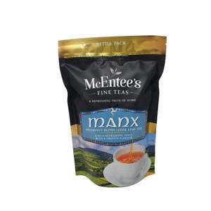 McEntee's MANX BREAKFAST Tea - 250g Bag– AWARD WINNING & BLENDED IN IRELAND