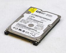 """40GB 2,5""""(6,35 CM) HDD DISCO DURO WESTERN DIGITAL WD400VE SCORPIO IDE PATA #O83"""