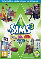 The Sims 3 70s,80s,90s Stuff PC - totalmente in italiano