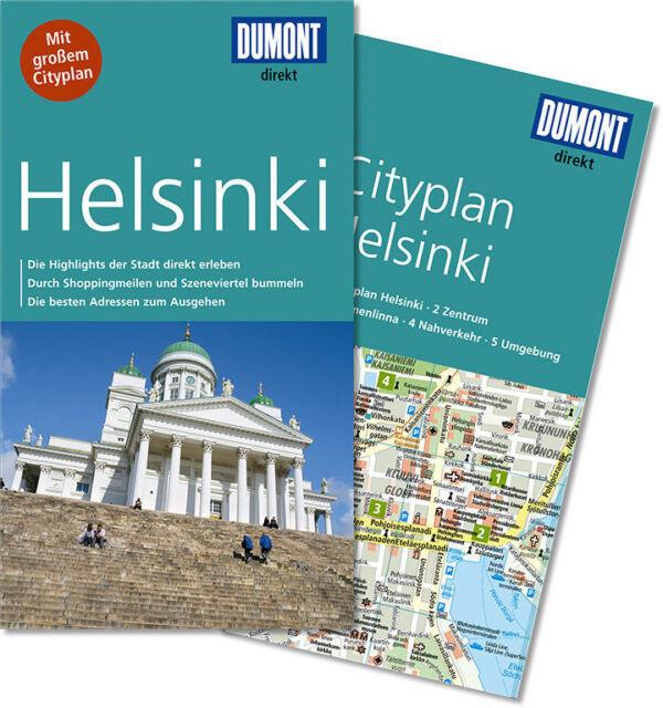 Helsinki Finnland UNGELESEN 2015 Reiseführer mit Stadtplan Karte  Dumont direkt2