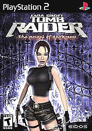 Lara Croft Tomb Raider The Angel Of Darkness Sony Playstation