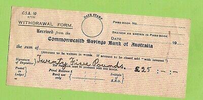 commonwealth bank indemnity form