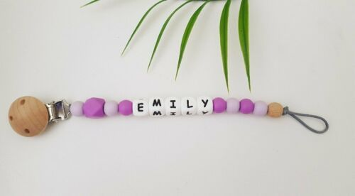 Assorted Colours Personalised Dummy Clips