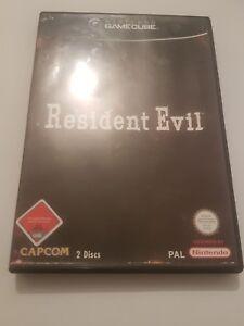 Resident-Evil-para-NINTENDO-Gamecube-pal-EUR-Edicion-Alemana-2CD-039-s