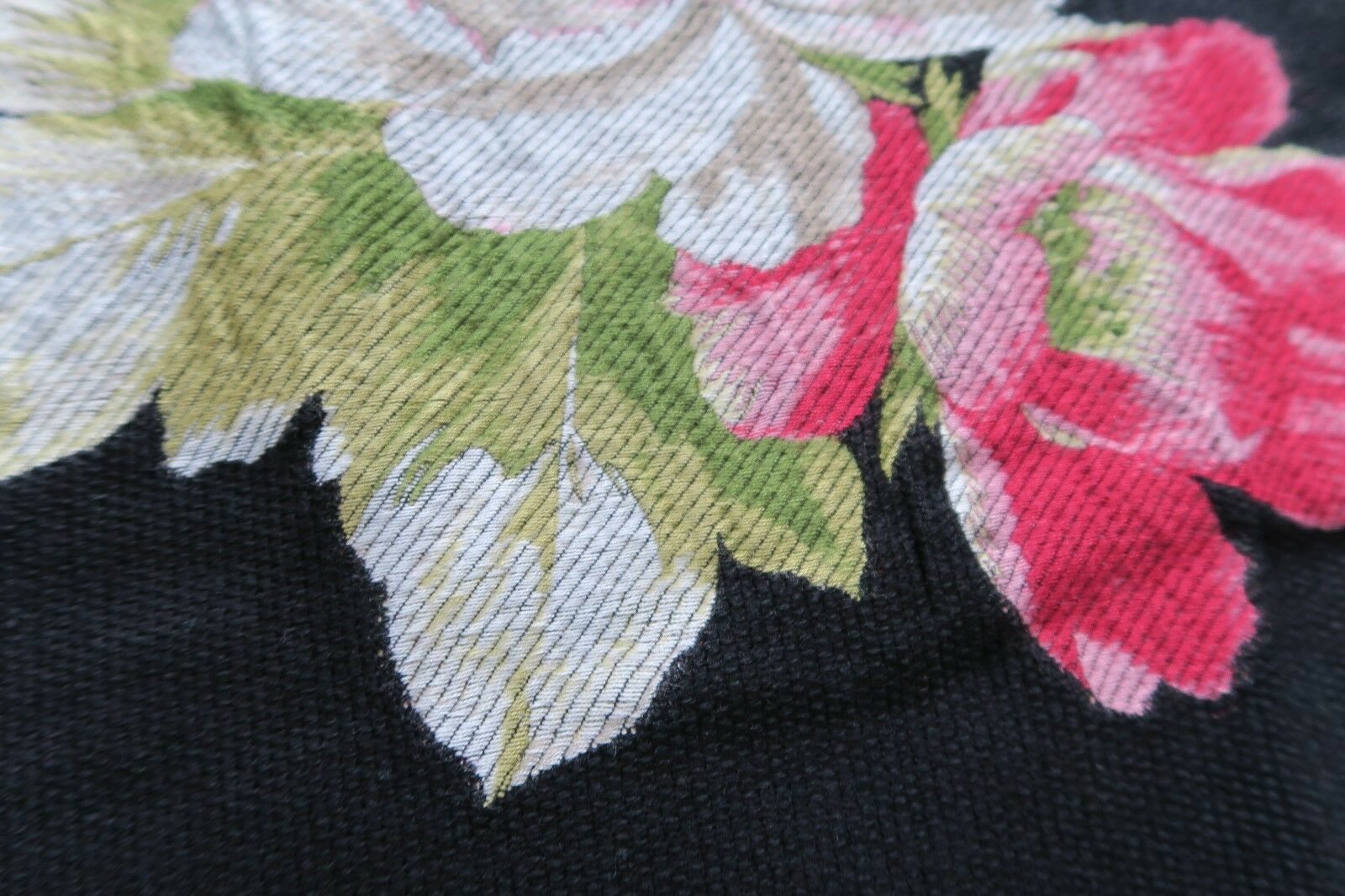 Couverture de jour de Evelyn BRANDT tissu roses hortensias hortensias hortensias des Pivoines 140x120cm np300 | Stocker  2a350f