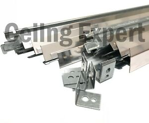 10m2 Polish Chrome Suspended Ceiling Grid System 600 X 600