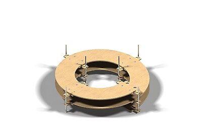 Spur Z zweigleisig Gleiswendel Spur N 4 Umdrehungen CNC gefertigt !!!